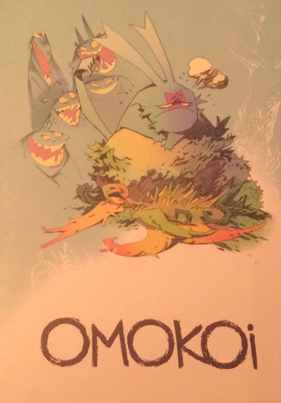 Cover image of Omokoi, color
