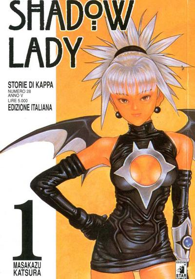 Cover image of Shadow Lady (ITA) #1, black&white