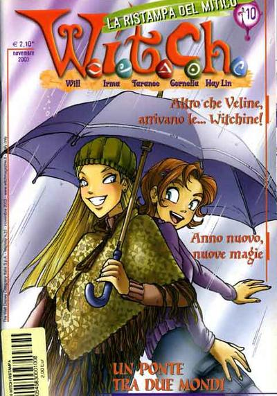 Cover image of W.I.T.C.H #10, color
