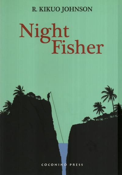 Cover image of Night Fisher, black&white