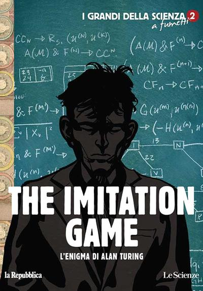 Cover image of The imitation game (I Grandi della scienza #2), color