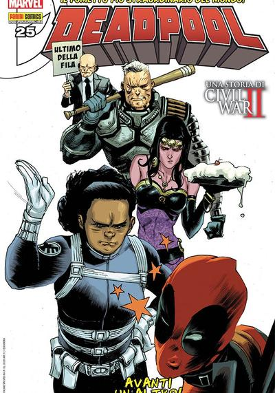 Cover image of Deadpool #25 (ITA), color