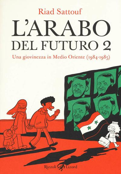 Cover image of L'arabo del futuro #2, color