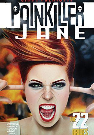 Cover image of Painkiller Jane: the 22 brides, color