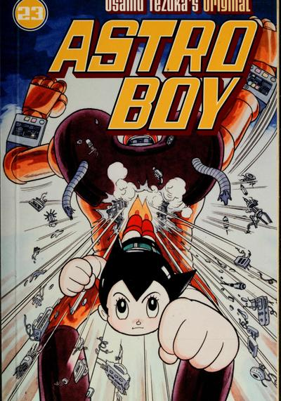 Cover image of Astro boy #23 (ENG), black&white