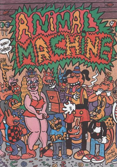 Cover image of Animal Machine, color