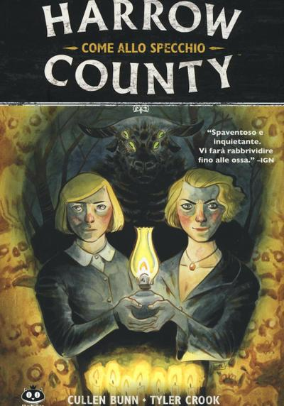 Cover image of Harrow County #2 - Come allo specchio, color