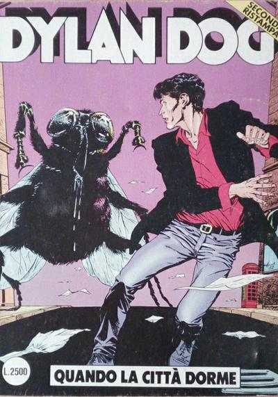 Cover image of Dylan Dog #29, black&white