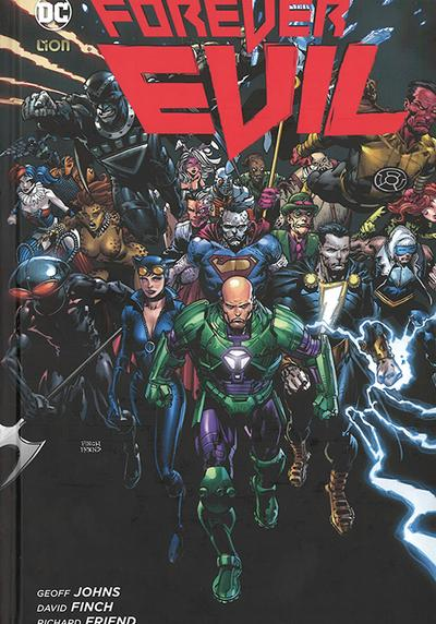 Cover image of Forever Evil, color