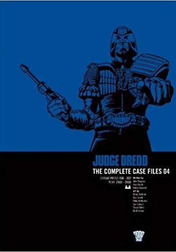 Cover image of Judge Dredd: Complete Case Files v. 4, black&white
