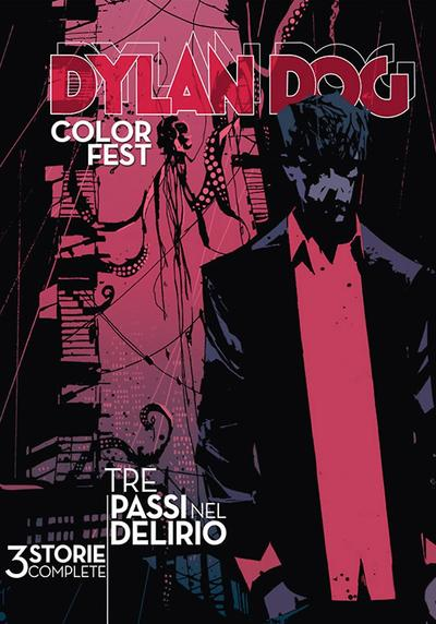 Cover image of Dylan Dog Color Fest #16 - Tre passi nel delirio, color