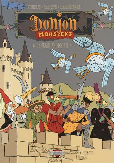 Cover image of Donjon Monster 11 - Le grand animateur, color