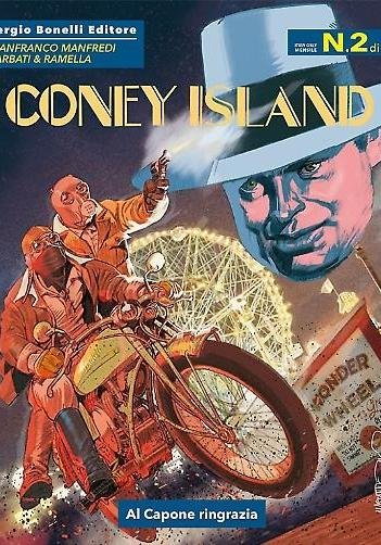 Cover image of Coney Island #2, black&white