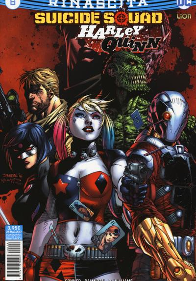 Cover image of Suicide Squad / Harley Quinn Rinascita #6, color