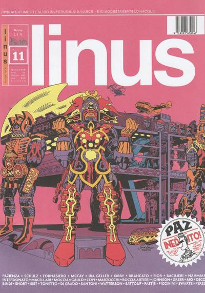 Cover image of Linus #642, color