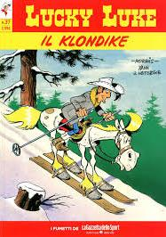 Cover image of Luky Luke Il Klondike, color