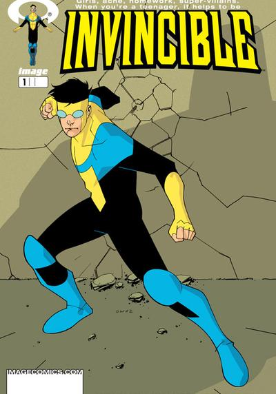 Cover image of Invincible 1, color