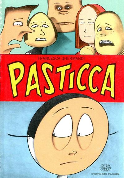 Cover image of Pasticca, black&white