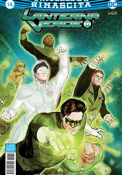 Cover image of Lanterna Verde Rinascita #14, color