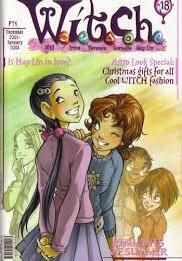 Cover image of W.I.T.C.H. #18, color