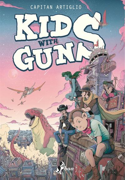 Cover image of Kids with Guns, color