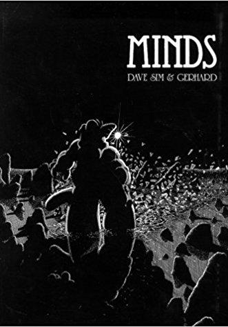 Cover image of Cerebus - Minds, black&white