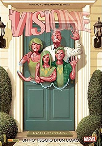 Cover image of Visione #01, color