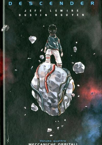 Cover image of Descender #4 - Meccaniche Orbitali, color