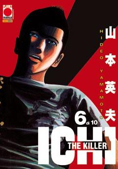 Cover image of Ichi the Killer #6 (ITA), black&white