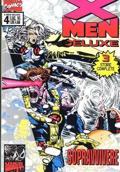 Cover image of X-Men Deluxe #4, color