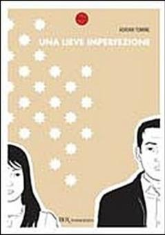 Cover image of Una lieve imperfezione, black&white