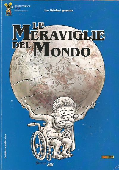 Cover image of Special Events #54 - Le Meraviglie del Mondo, black&white