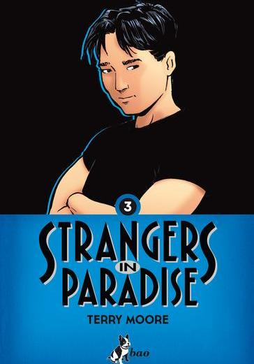 Cover image of Strangers in Paradise vol.3 (ITA), black&white