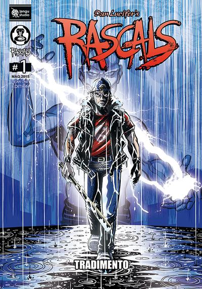 Cover image of Rascals #1, color