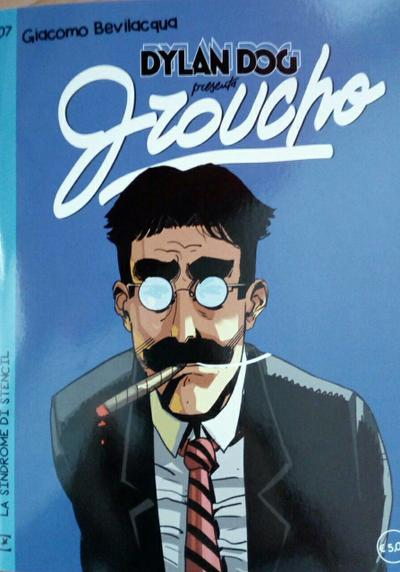 Cover image of Dylan Dog presenta Groucho #7, color