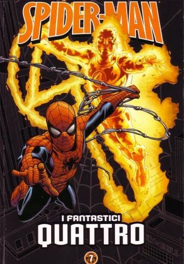 Cover image of Spider-Man: le storie indimenticabili #7 - I Fantastici Quattro, color