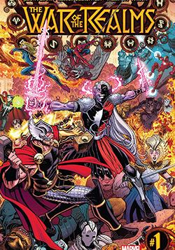 Cover image of The War of the Realms, color