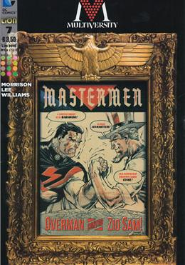 Cover image of Multiversity #7 (ITA), color