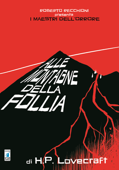 Cover image of Alle montagne della follia, black&white