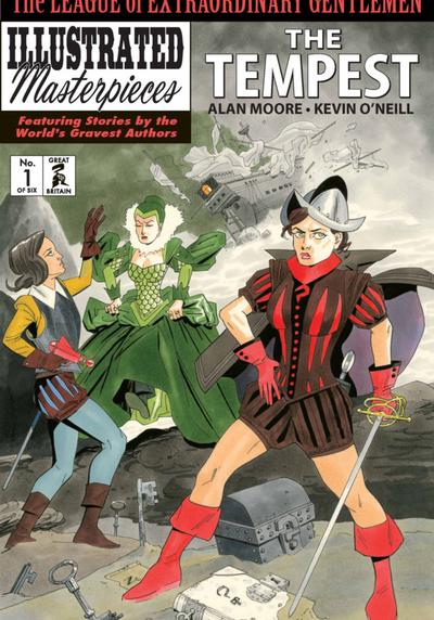 Cover image of The Tempest #1, other