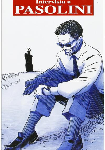 Cover image of Intervista a Pasolini, black&white