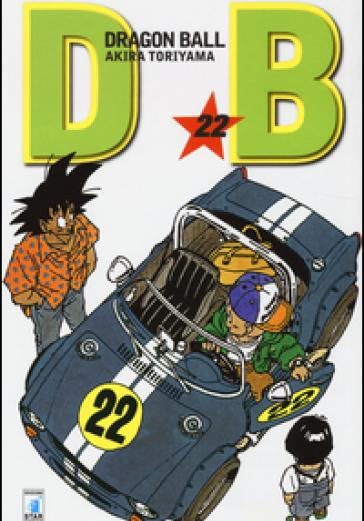 Cover image of Dragon Ball. Evergreen edition: 22, black&white