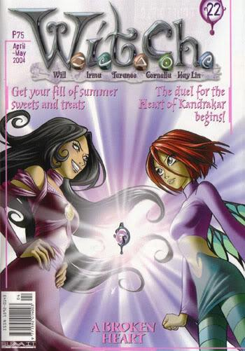 Cover image of W.I.T.C.H. #22, color