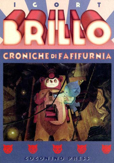 Cover image of Brillo - Croniche di Fafifurnia, color