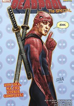 Cover image of Deadpool tri-special, color
