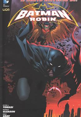 Cover image of Batman e Robin #1 (ITA), color
