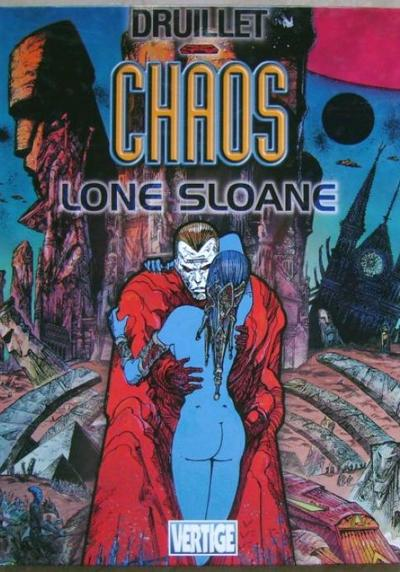 Cover image of Chaos Lone Sloane, color