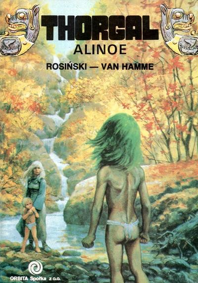 Cover image of Thorgal Alinoe, color