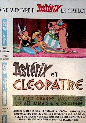Cover image of Astérix et Cleopatre, color