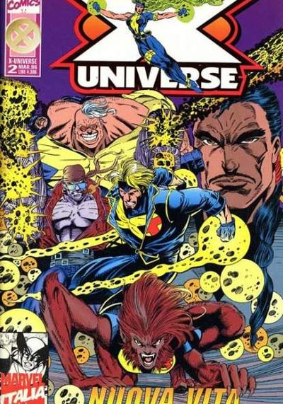 Cover image of X-Universe #2 (ITA), color